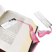 Book Mark Pink Tassle