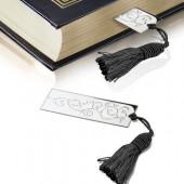 Book Mark Black Tassle
